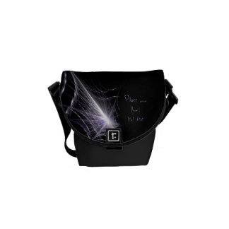 Spider Web Courier Bag