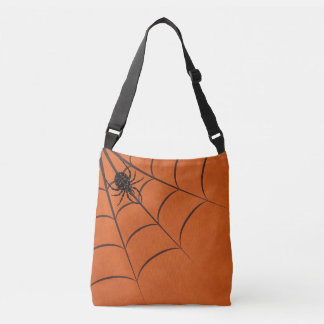 Spider & Web Crossbody Bag