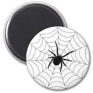 Spider Web Design 2 Inch Round Magnet
