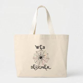 Spider Web Designer Bag