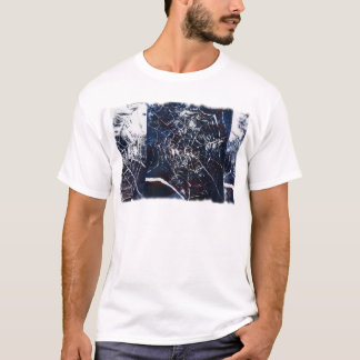 Spider Web from Hand-Made Print T-Shirt