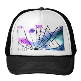 Spider Web Goth Punk Black Bro Grunge Trendy Man Trucker Hat