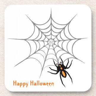 Spider Web Halloween Coaster