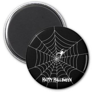 Spider Web Halloween Magnet