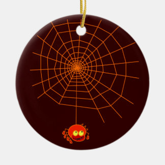 Spider Web Halloween Ornament