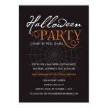 SPIDER WEB | HALLOWEEN PARTY INVITATION