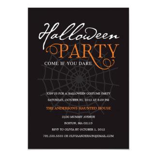 SPIDER WEB | HALLOWEEN PARTY INVITATION