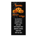 Spider Web  Halloween Party Invitations