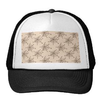 Spider Web Halloween Pattern Trucker Hat