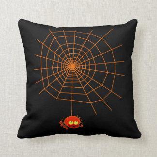 Spider Web Halloween Pillows