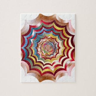 spider web hypnotic revitalized jigsaw puzzle