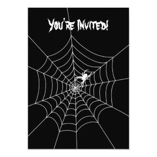 Spider Web Invitation- Blank