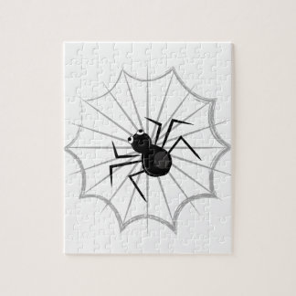 Spider Web Jigsaw Puzzle