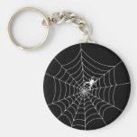 Spider Web Key Chains