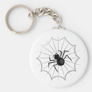 Spider Web Keychain