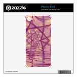 Spider Web lake V2 iPhone 4S Decal