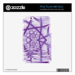 Spider Web Lake V4 iPod Touch 4G Decal