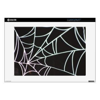 "Spider Web Laptop Zazzle Skin 15"" Laptop Skins"