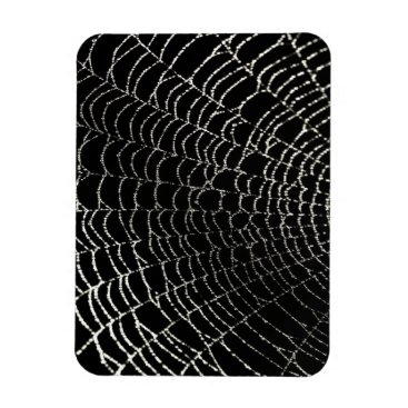 Halloween Themed Spider Web Magnet