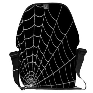 Spider Web Messenger Bag