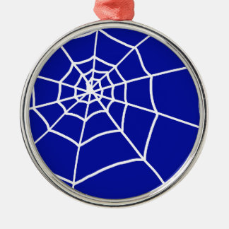 Spider Web Metal Ornament