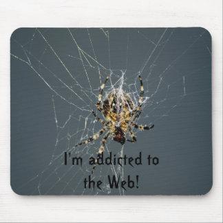 Spider Web Mousepad