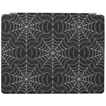 Halloween Themed Spider Web Pattern iPad Cover