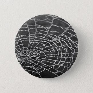 Spider Web Pinback Button