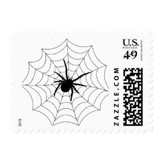 Spider Web postage stamps