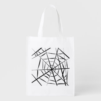 Spider Web Reusable Grocery Bag