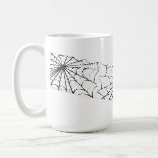 Spider Web Ribbon Mugs