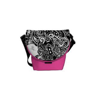 Spider Web Shoulder bag Courier Bags
