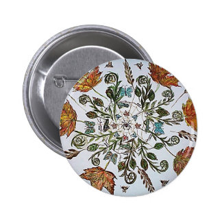 Spider Web - Spider - Ants and Bees Pinback Button