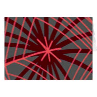 Spider Web Spiderweb Exotic Design Card