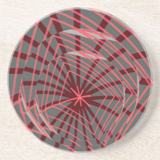 Spider Web Spiderweb Exotic Design Drink Coaster