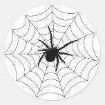 Spider Web stickers