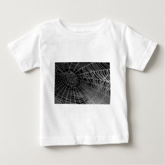 Spider web with water beads baby T-Shirt