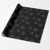 Spider Webs Halloween Wrapping Paper