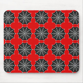 Spider Webs Mouse Pad