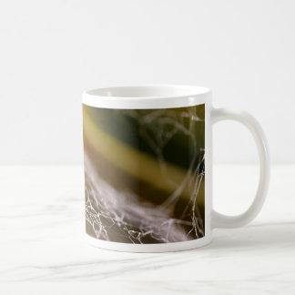 Spider Webs Classic White Coffee Mug