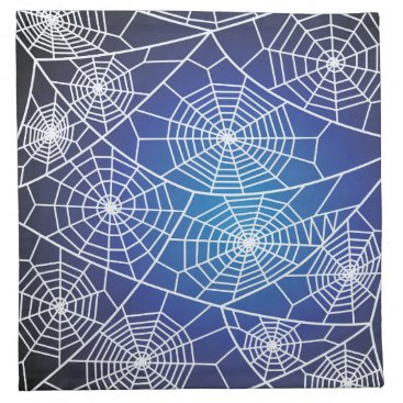 Halloween Themed Spider webs napkin