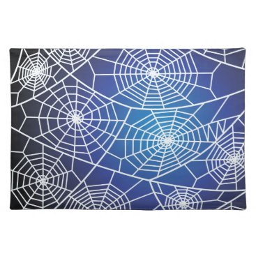 Halloween Themed Spider webs placemat