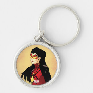 Spider-Woman Clenched Fists Keychain