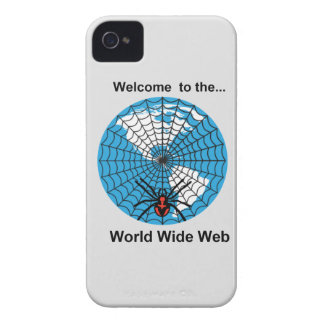 Spider World Wide Web iPhone 4 Cover