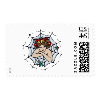 Spidergirl Postage Stamps