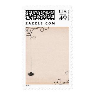 spidergrunge CUTE BLACK CARTOON SPIDER GRUNGE SPID Postage Stamp