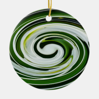 SpiderLily Twist Ceramic Ornament