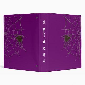 Spiders 3 Ring Binder