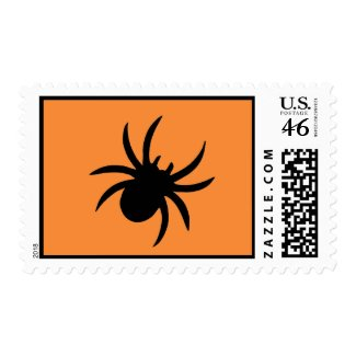 Spiders and Lace Postage zazzle_stamp