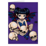 """""""Spiders and Skulls"""" Greeting Card"""